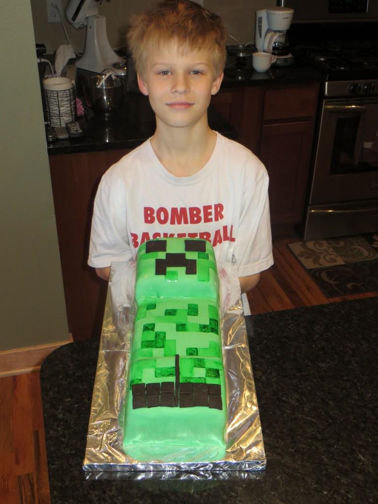 Creeper cake Owen