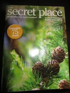 The Secret Place Devotion - The Right Answer