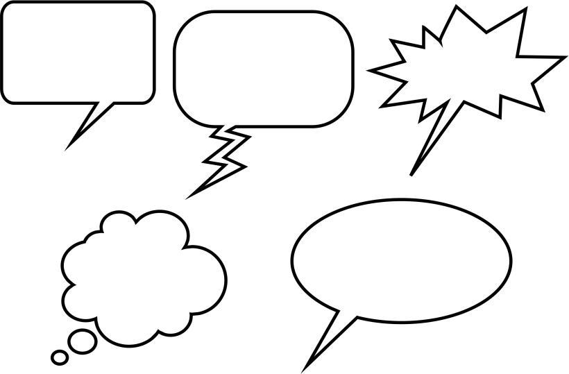 speech-bubbles